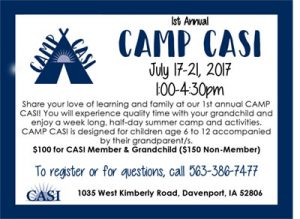 Family Fun at Camp CASI